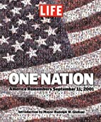 One Nation: America Remembers September 11,…