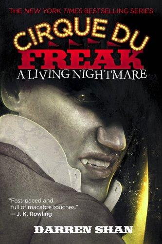 Cirque Du Freak written by Darren Shan part of The Saga of Darren Shan