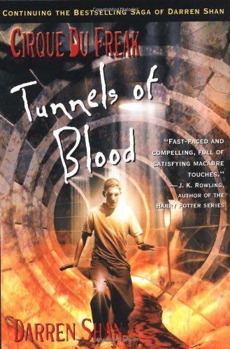 Tunnels of Blood written by Darren Shan part of The Saga of Darren Shan