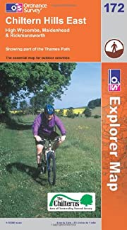 Exp 172 Chiltern Hills East (Explorer Maps)…