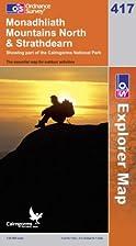 Explorer Map 417: Monadhliath Mountains…