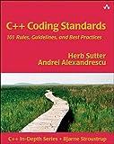 couverture du livre C++ Coding Standards