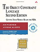 The Object Constraint Language by Jos Warmer