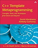 couverture du livre C++ Template Metaprogramming : Concepts, Tools, and Techniques from Boost and Beyond