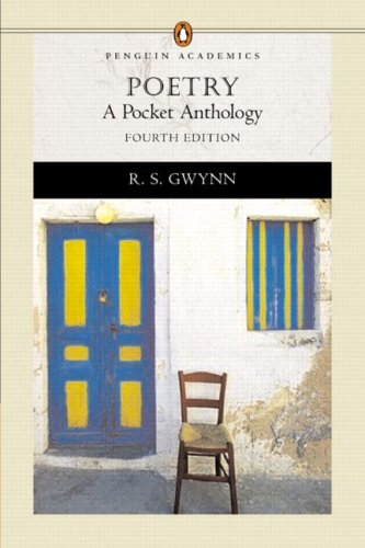 Poetry: A Pocket Anthology (Penguin Academics Series) (4th Edition), Gwynn, R. S.