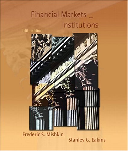 Institutions mishkin financial markets pdf edition and 8th