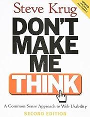 Don't Make Me Think: A Common Sense…
