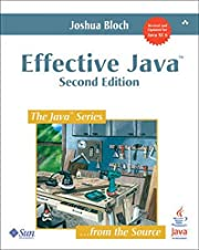 Effective Java (2nd Edition) by Joshua Bloch