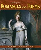 Shakespeare's Romances and Poems…