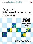 Essential Windows Presentation Foundation…