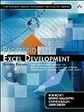 couverture du livre Professional Excel Development
