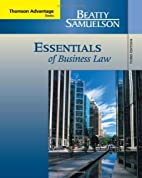 Essentials of Business Law by Jeffrey F.…