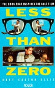 Less Than Zero (Picador Books) por Bret…