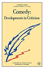 Comedy: Developments in Criticism- Selection…