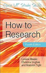 How to Research de Loraine Blaxter