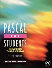 Pascal for Students (including Turbo Pascal)…