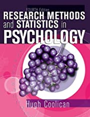 Research Methods & Statistics in Psychology…