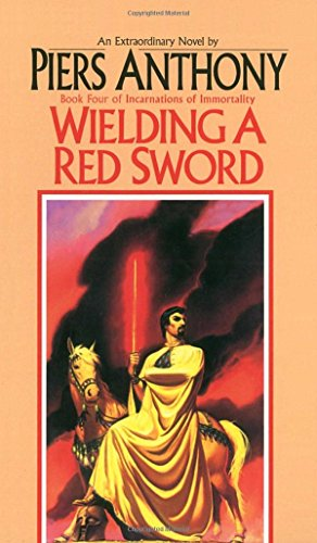 Wielding a Red Sword written by Piers Anthony