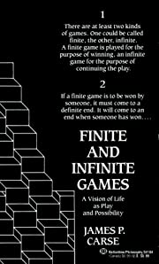 Finite and Infinite Games: A Vision of Life…