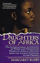 Daughters of Africa: An International…