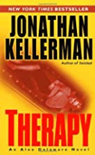 Therapy (Alex Delaware) by Jonathan…
