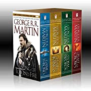 A Song of Ice and Fire, Books 1-4 (A Game of…