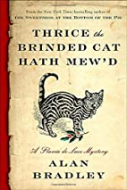 Thrice the Brinded Cat Hath Mew'd: A…