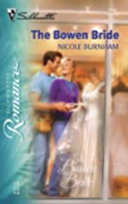 The Bowen Bride by Nicole Burnham
