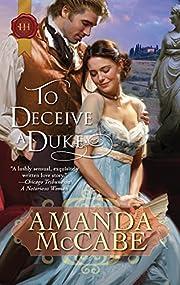To Deceive a Duke (Historical Romance HB)…