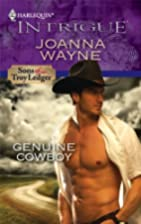 Genuine Cowboy by Joanna Wayne