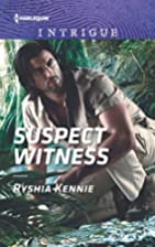 Suspect Witness (Harlequin Intrigue) by…