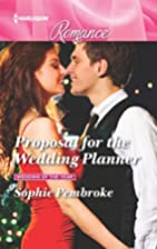 Proposal for the Wedding Planner by Sophie…