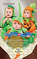 The Triplets' First Thanksgiving by Cathy…