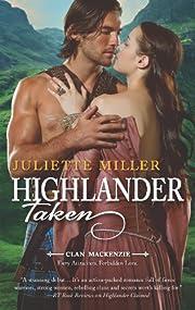 Highlander Taken de Juliette Miller