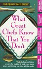 What Great Chefs Know That You Don'T af…