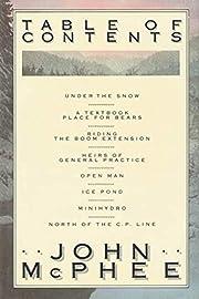 Table of contents av John McPhee