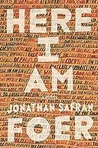 Here I Am: A Novel by Jonathan Safran Foer