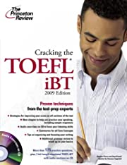Cracking the TOEFL IBT with Audio CD, 2009…