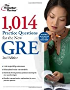 1,014 Practice Questions for the New GRE by…