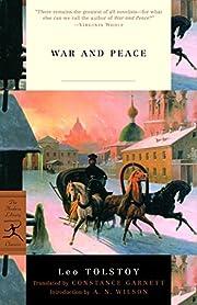 War and Peace (Modern Library Classics) av…