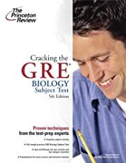 Cracking the GRE Biology Test, 5th Edition…