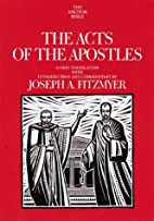 Acts of the Apostles (Anchor Bible) by…