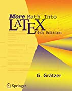 More Math into LaTeX by George Grätzer