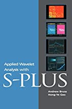 Applied Wavelet Analysis with S-PLUS by…