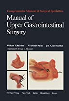 Manual of Upper Gastrointestinal Surgery…