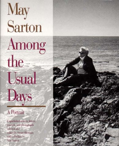 May Sarton Among The Usual Days A Portrait Folio Tinycat
