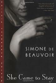 She Came to Stay de Simone de Beauvoir