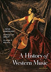 A History of Western Music af J. Peter…