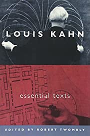 Louis Kahn : essential texts af Louis I.…