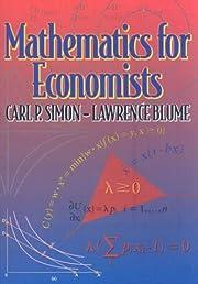 Mathematics for Economists av Carl P. Simon